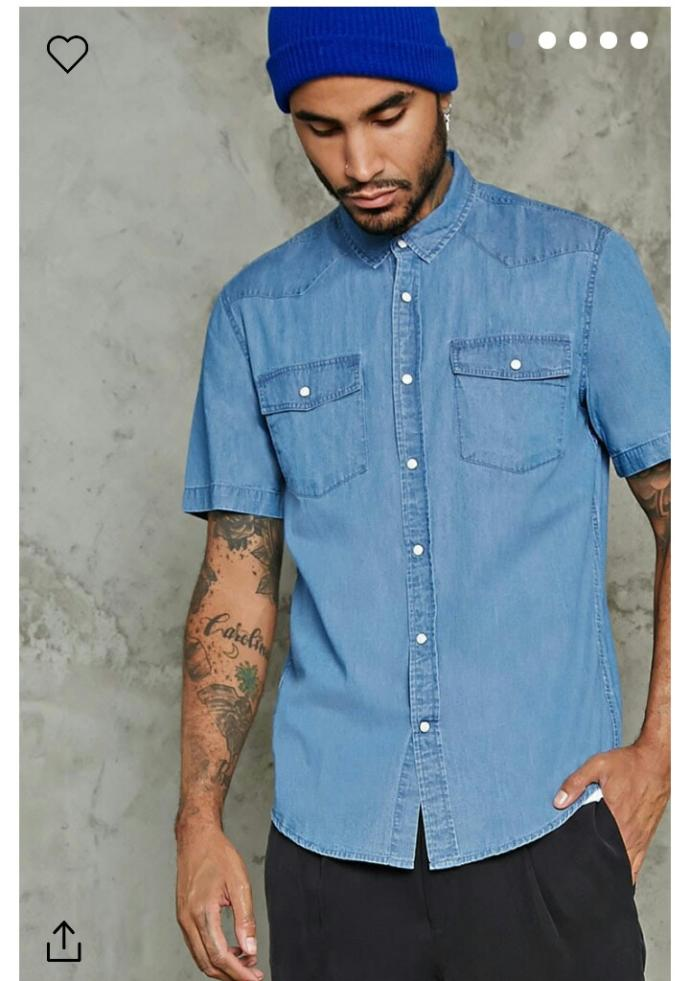 Don't you agree jean shirts are a staple in any wardrobe?