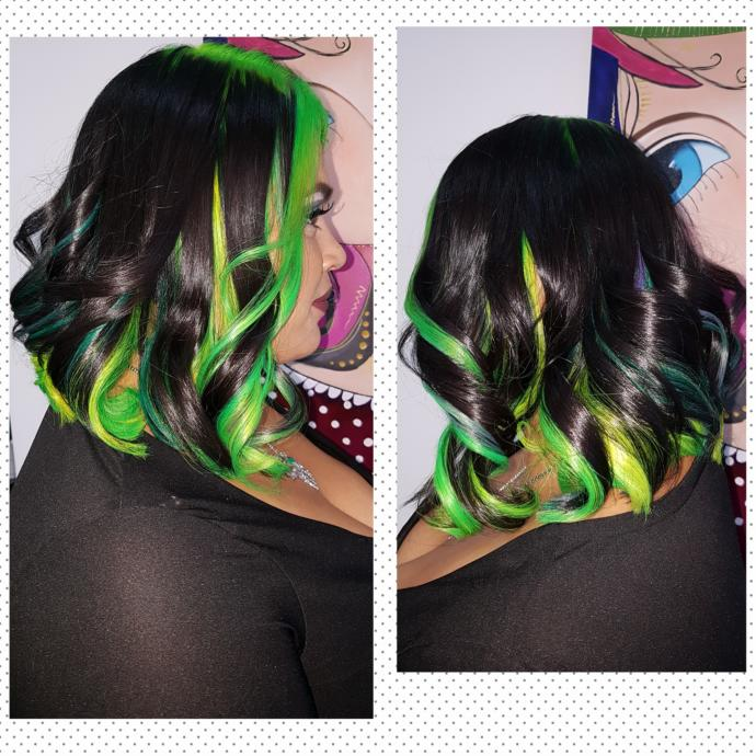 What do you think of the ladies who dye their hair with extreme colors and wear extreme make up on?