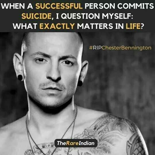 Why do you think Chester Bennington committed suicide??