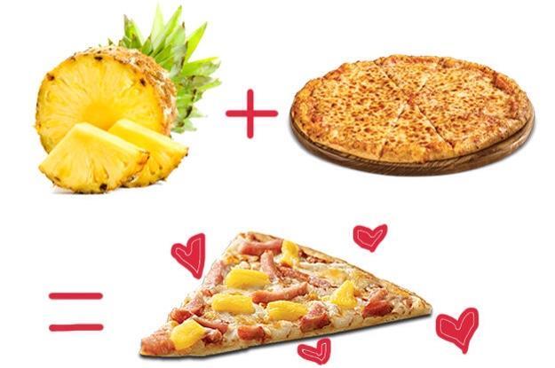 You like Pineapple on Pizza?!?