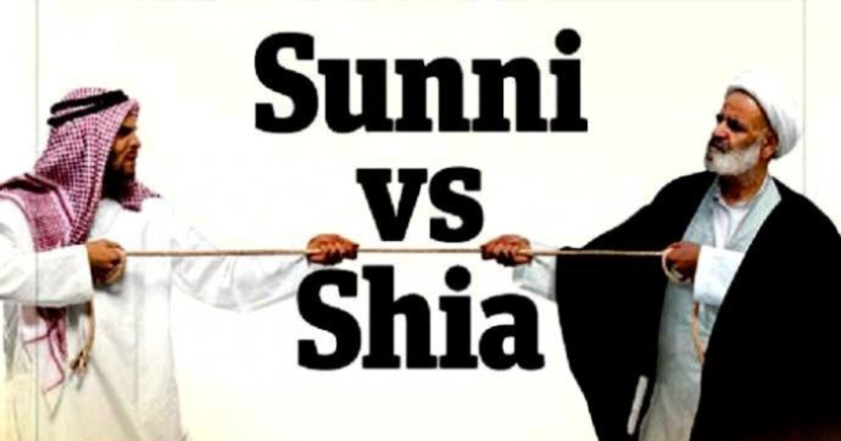 Why is there rivalry between Sunni and Shia Muslims , when both Islamic sects have the same God, and have