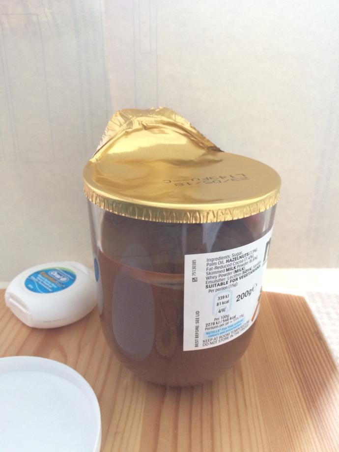Listen, How come half of the jar is empty ?