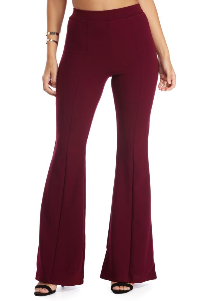 What do you think about flared trousers?