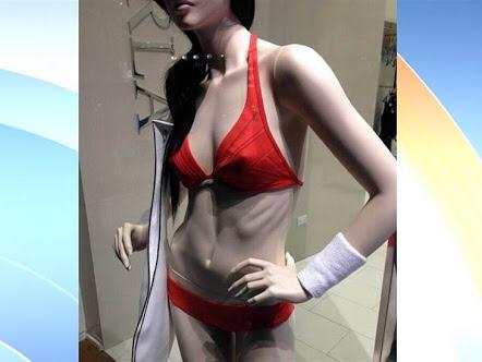 What do you think of boney mannequins?