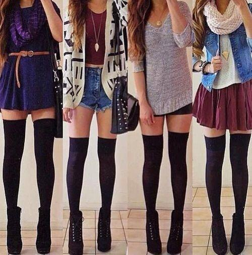What do guys think about overknee socks?