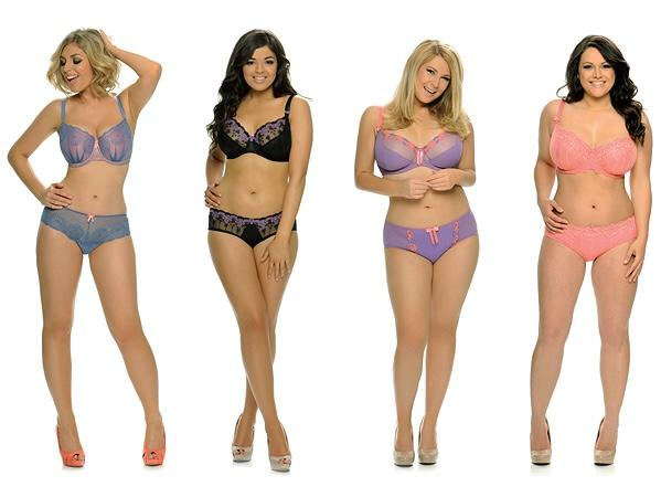I think women with curves look more attractive than super models do. What do you think?