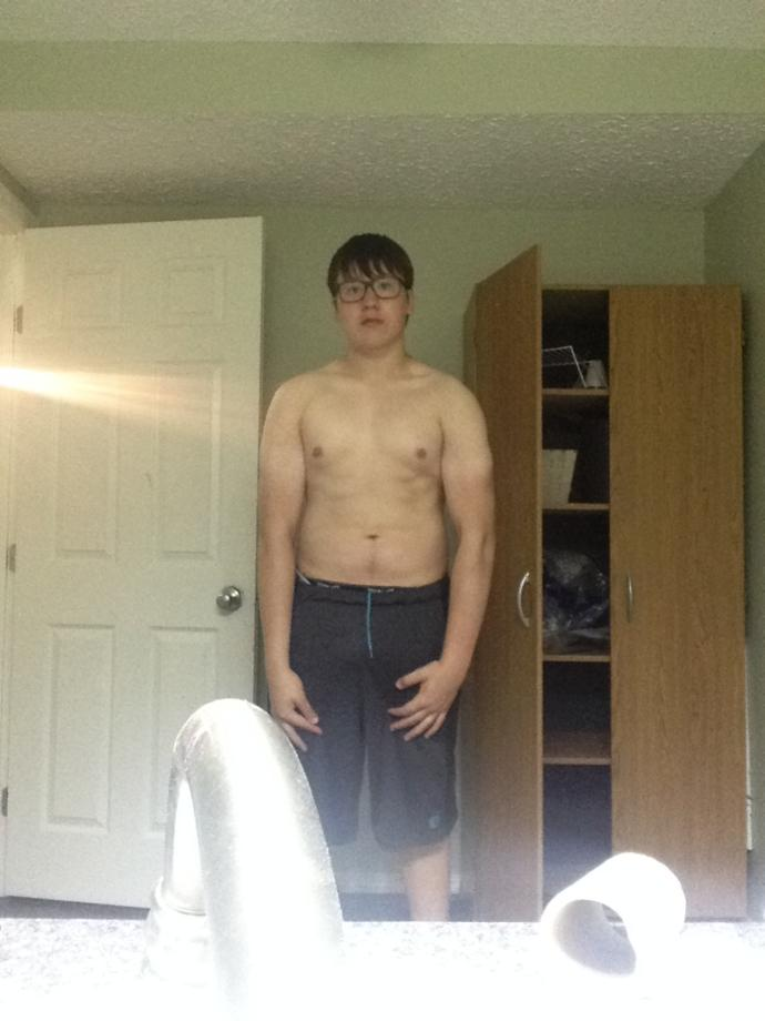 Alright you guys do you think I can get in bigger shape do u think I will get a good physique if I continue my special training?
