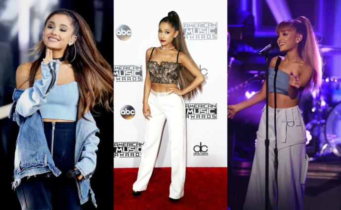 What year was Ariana Grande's style best?