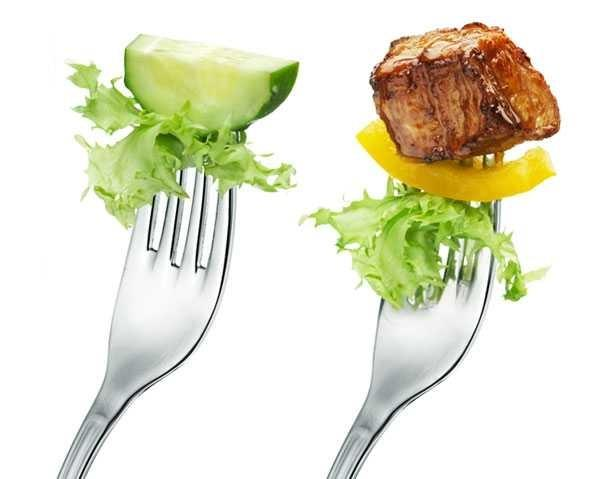 Are well-committed vegetarians tempted by the sight of meat??