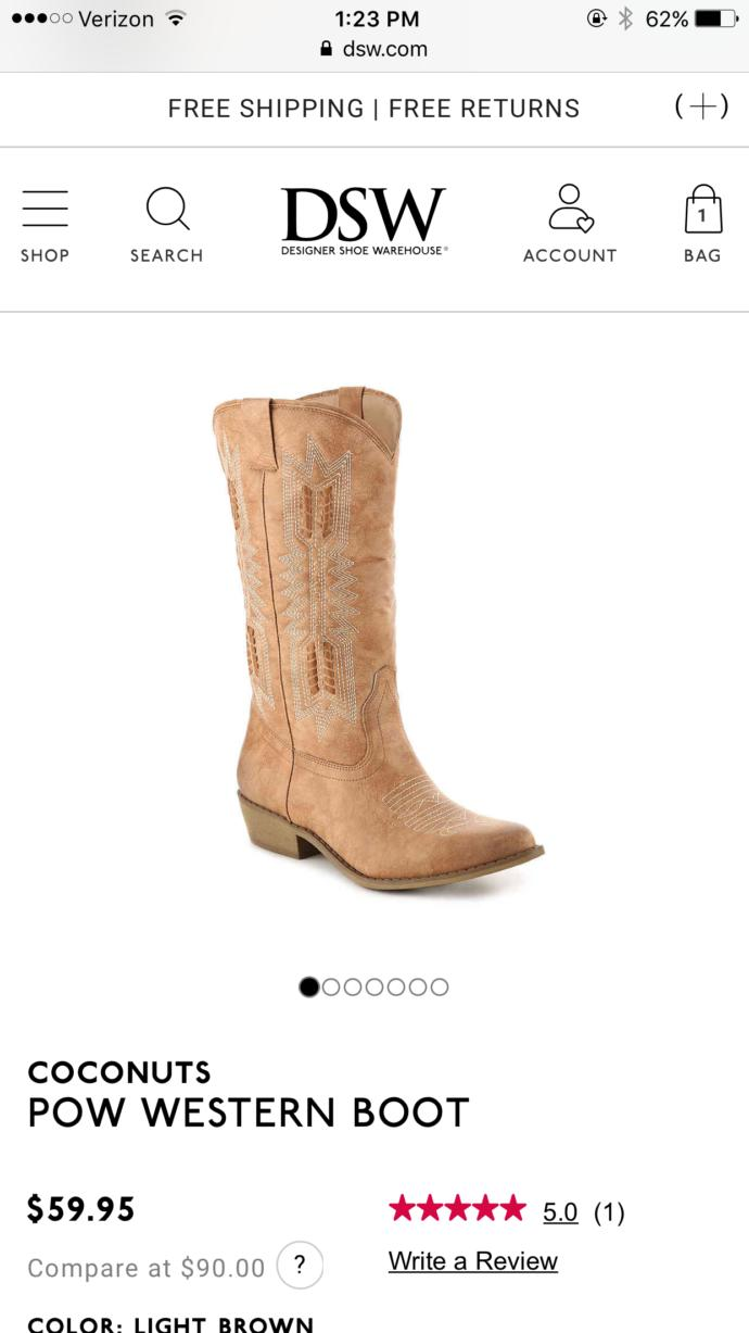Girls, are these cowboy boots cute? Should I get them?