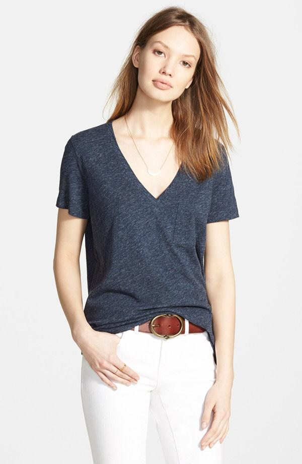 Guys, what's your impression of girls who wear deep v-neck t-shirts?