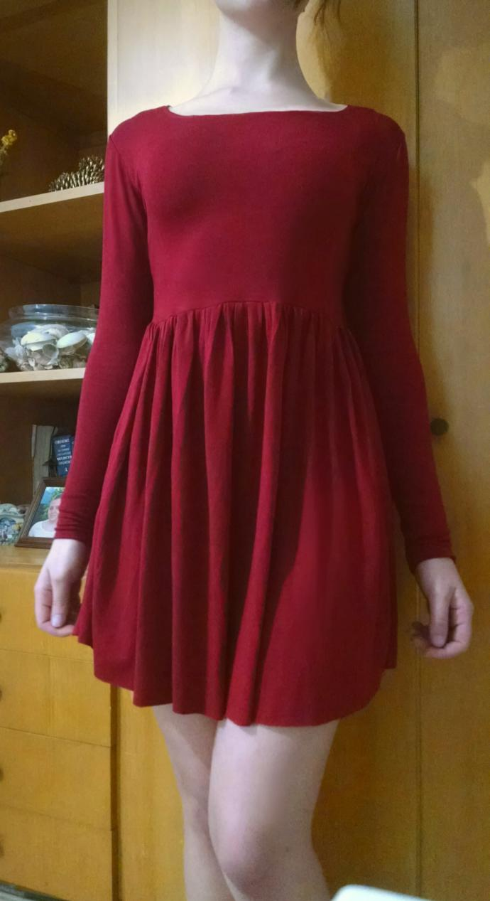 I just made this dress. What do you think?