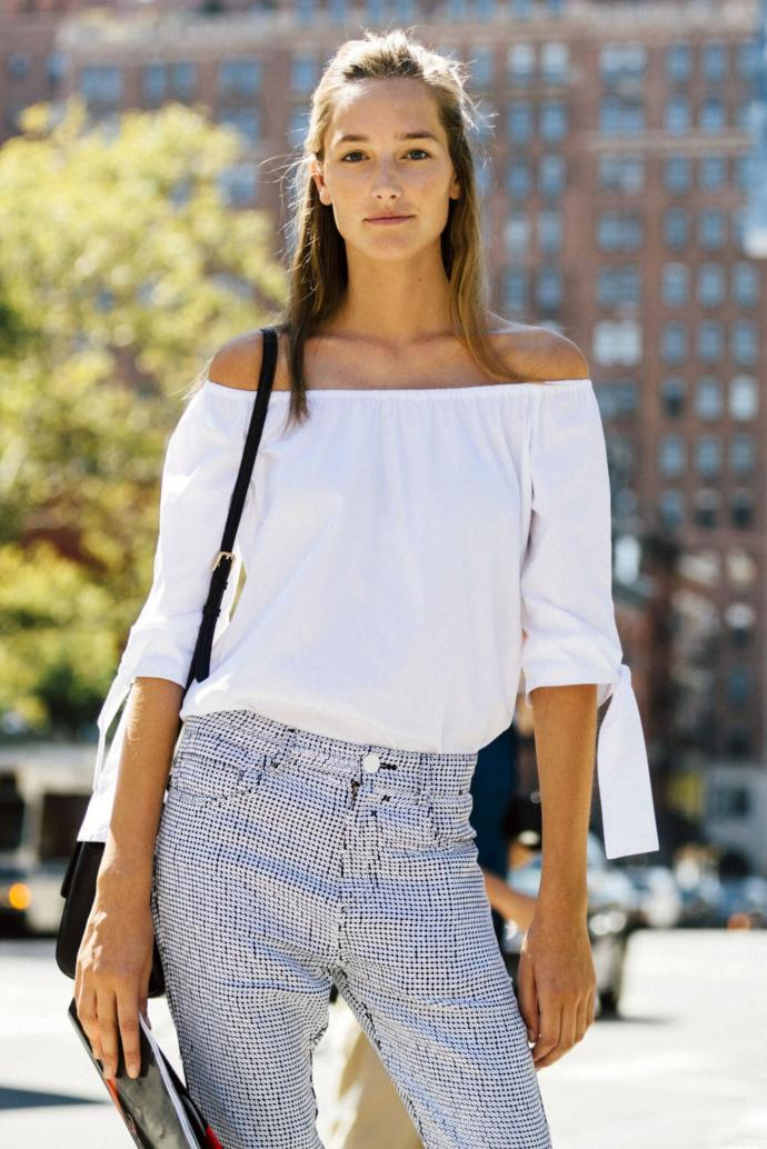 Off-the-shoulder trend, hot or not?