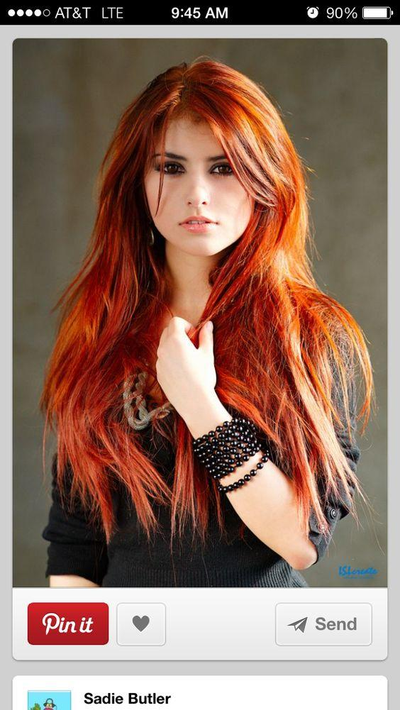 Which is the best looking red head?
