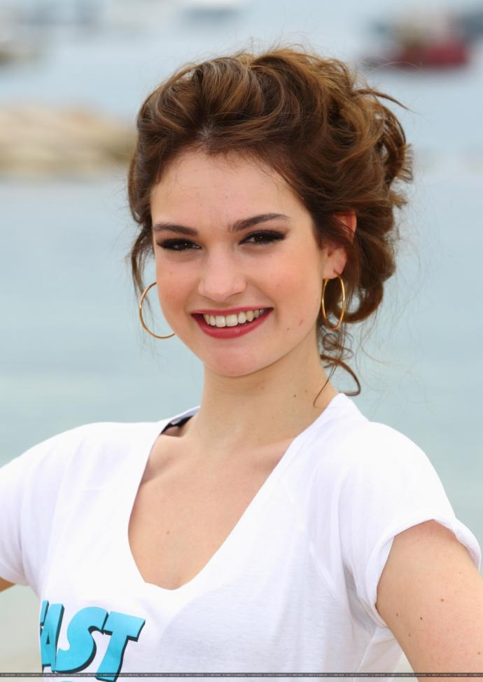 Rate Lily James?
