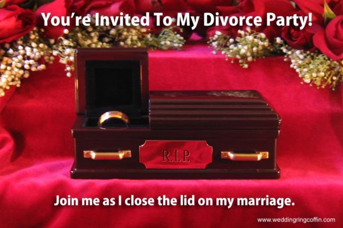 What's your view on throwing a divorce party?