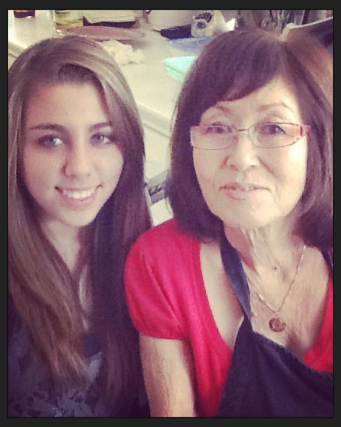 Do me and my grandma look alike?