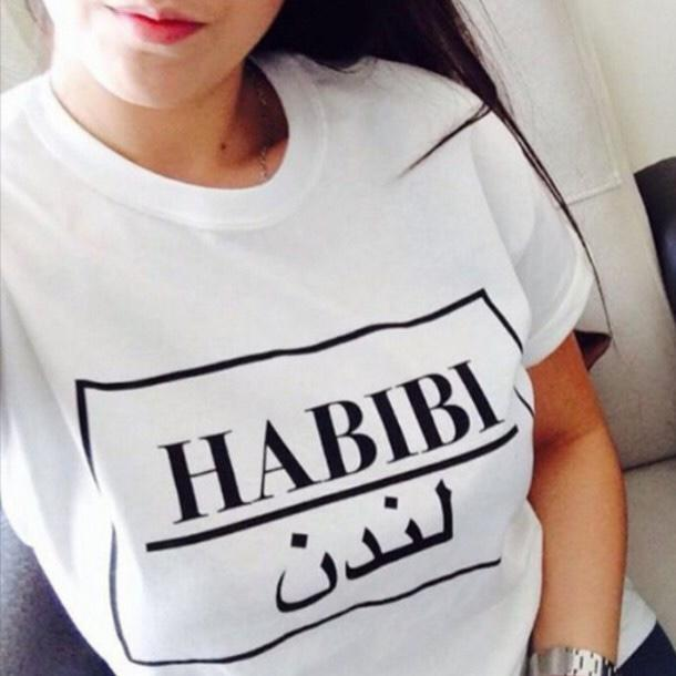 What does these Arabic Shirts say?
