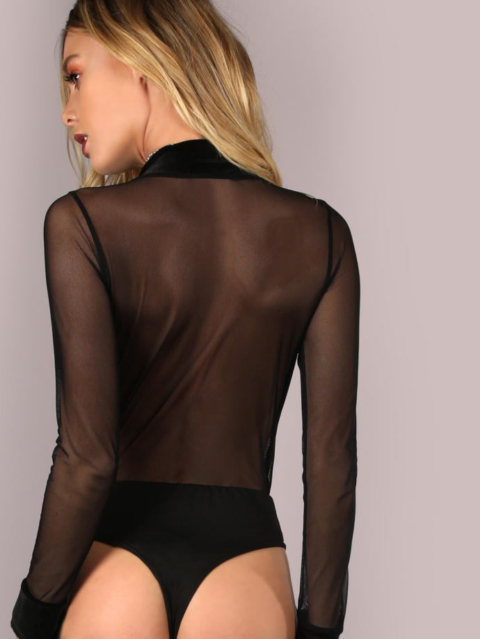 What do you think of this mesh bodysuit?