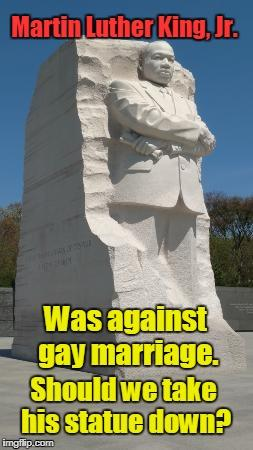 Should these statues and monuments to rascist slave owners be taken down just like the confederate owns?