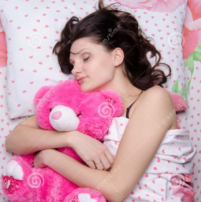 Do you sleep with a stuffed toy? What is it?