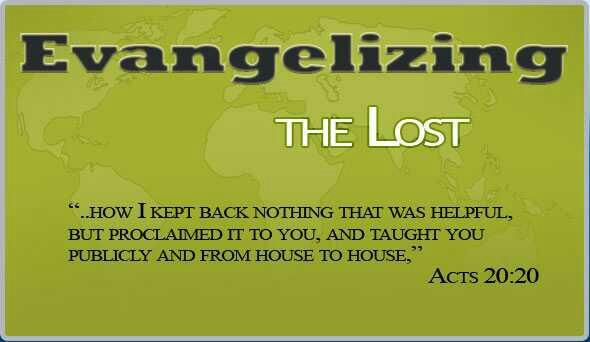 Do you evangelize??