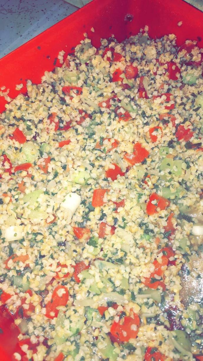 Have you ever had Tabouli ?