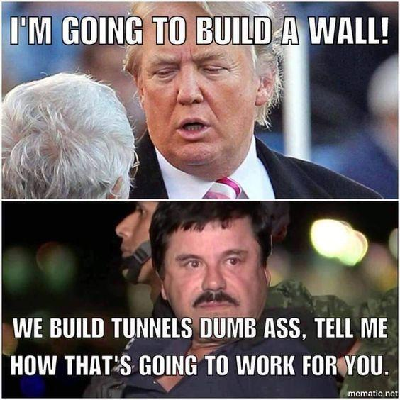 Whats you thought on Trump threatening a government shutdown over his wall?