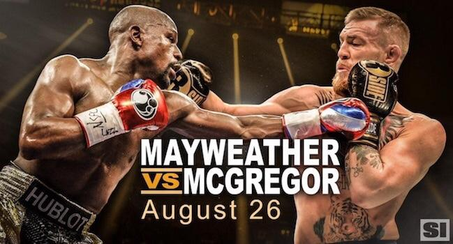 Why do some people think Connor McGreggor has any chance to beat Floyd Mayweather in a boxing fight?