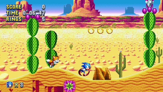 Any sonic fans here played the new Sonic Mania yet?
