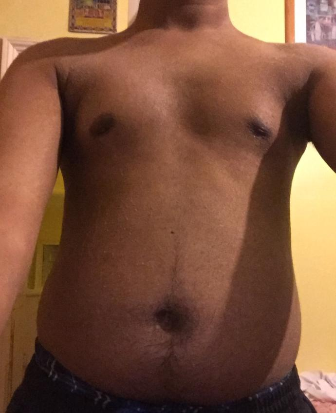 Is Mubarak stomach okay? Is it attractive? How can i improve it if I have to?