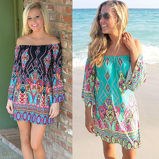 Do you like the patterns/colors on these beach dresses?