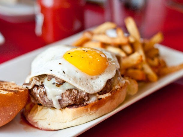 Burger with fried egg?  Yay or nay?