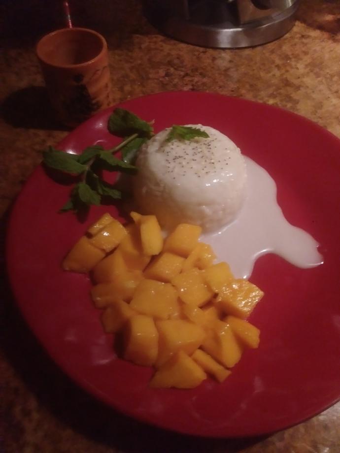Sticky Mango Rice?