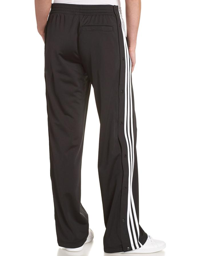 Is it weird if me and my girlfriend both wear adidas pants at the same time?