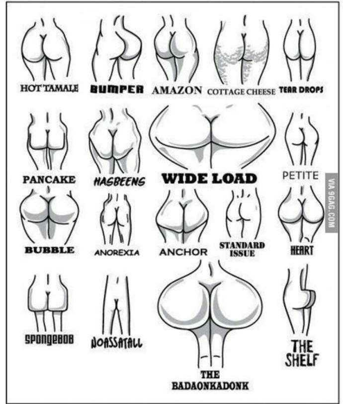 what type of butt do you have??