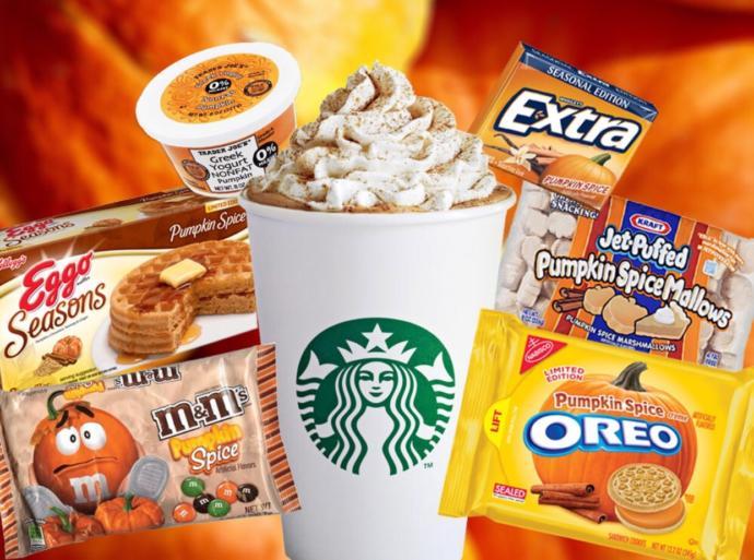 Pumpkin Spice Flavored food?