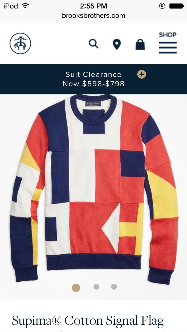 Opinion on this sweater?