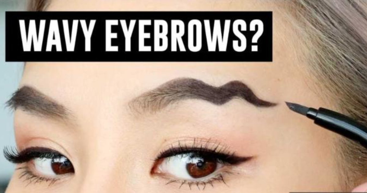 What Do You Think Of The New Make Up Trend Wavy Eyebrows