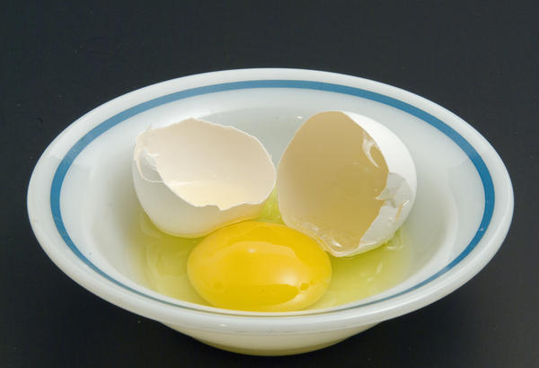 Have you swallowed a raw egg?