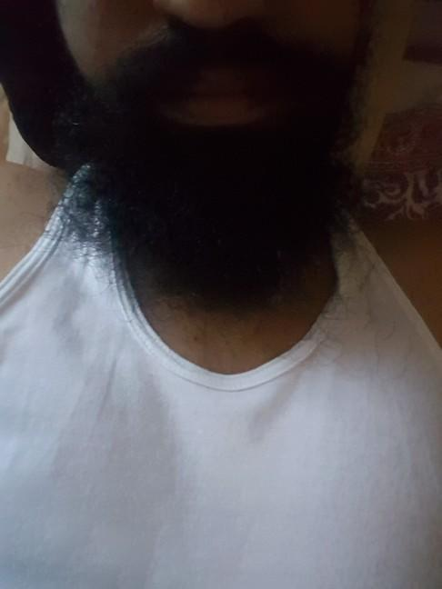 Open beard or a trimmed one ??