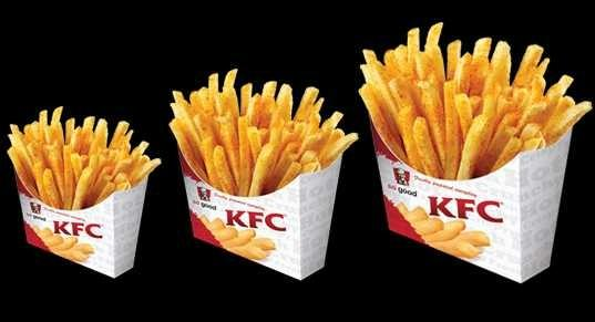 Would you like the idea if KFC added fries to their menu 🍟?