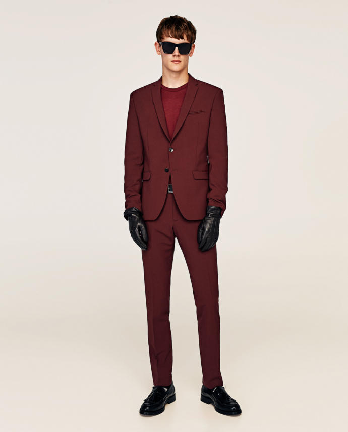 What do you think of this suit?