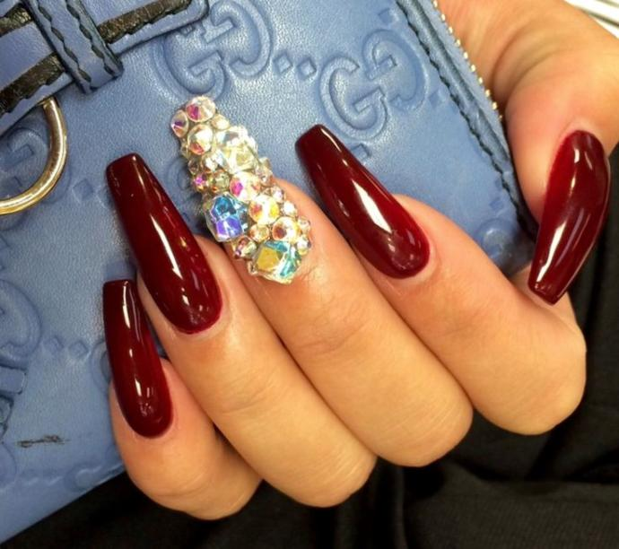 What do people think about girls who get long acrylic nails?