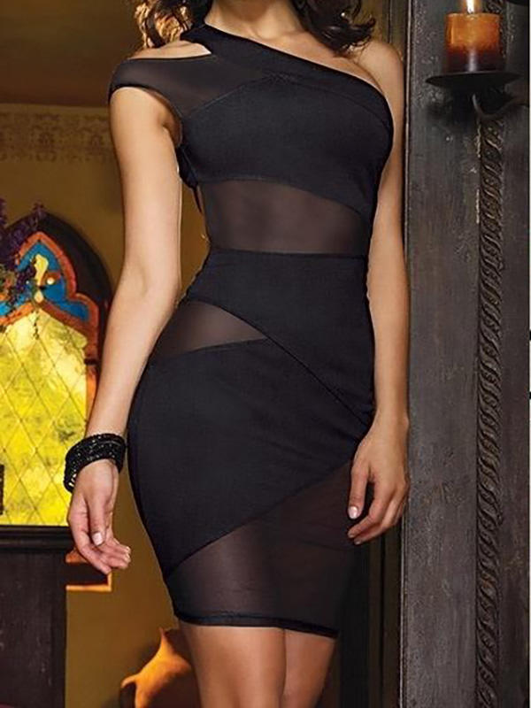 What do you think of this opague bandage dress?