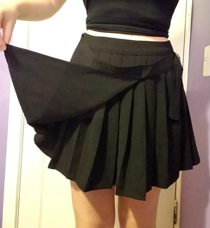 What do you think of my skirt??