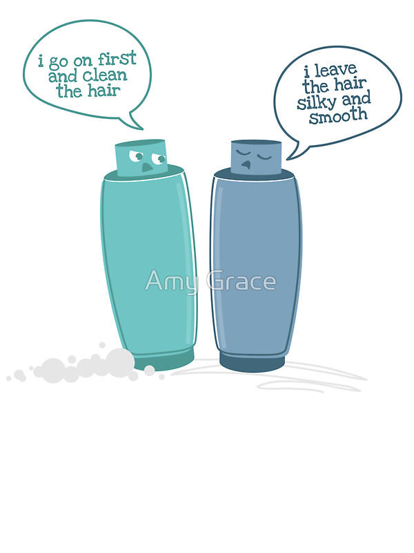 What is better Shampoo or Conditioner?