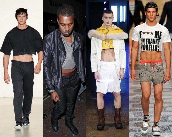 "What do you think of ""male crop tops""?"