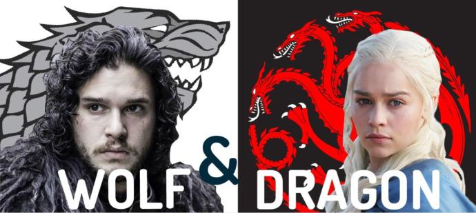 Which is the better: dragon or wolf?