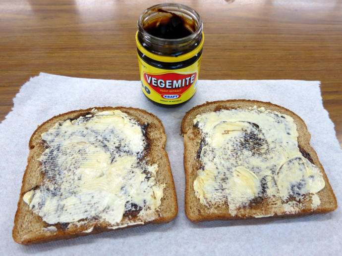 Australians: Are Vegemite and Butter sandwiches a big thing in your country?